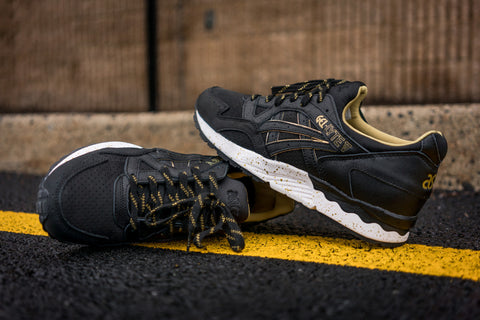 asics gel lyte v black and gold
