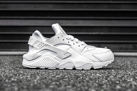 nike air huarache white pure platinum