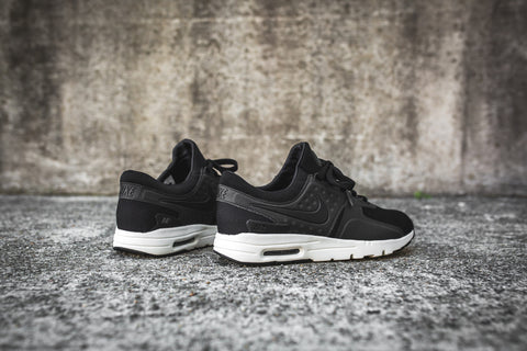 Womens Nike Air Max Zero Black Sail 857661-002