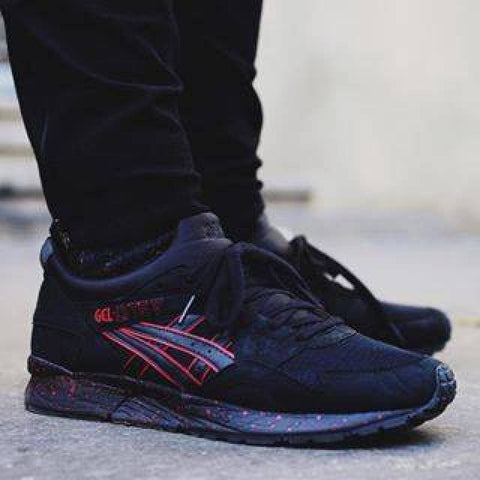 asics gel lyte v black speckles