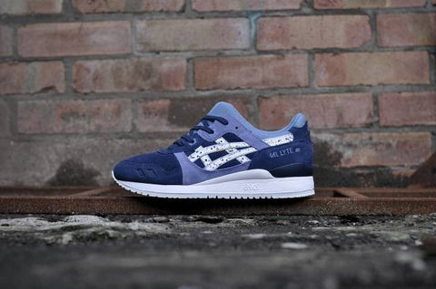 "Unisex Asics Gel Lyte III ""Granite Pack"" Indian Ink"