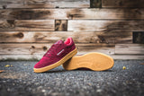 "Reebok Club C 85 Indoor ""Collegiate Burgundy/Riot Red"" AQ9873"