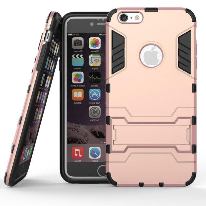 iPhone 6s 6 Plus Rose Pink Tough Armor Protective Case - Mavasoap - 1