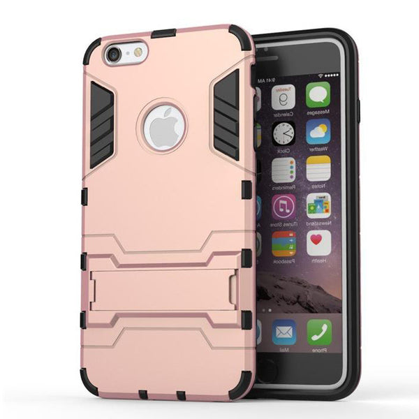 iPhone 6s 6 Plus Rose Pink Tough Armor Protective Case - Mavasoap - 2