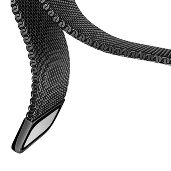 Apple Watch Black Milanese Loop Band Strap - Mavasoap - 4