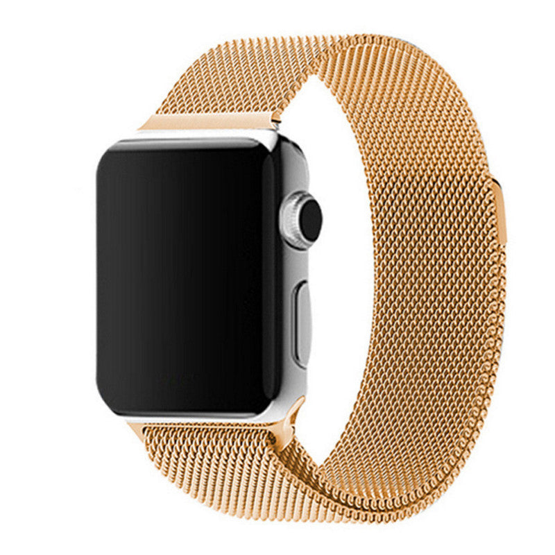 Apple Watch Gold Milanese Loop Band Strap - Mavasoap - 1