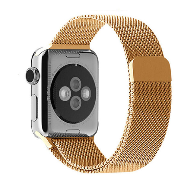 Apple Watch Gold Milanese Loop Band Strap - Mavasoap - 2