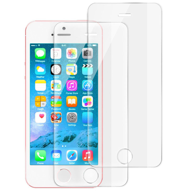 Apple iPhone 5s 5 Tempered Glass Screen Protector (Pack of 2pcs) - Mavasoap