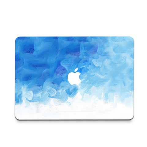 Blue Paint Cloud Decal Skin Set for the Apple MacBook Air Pro - Mavasoap - 1