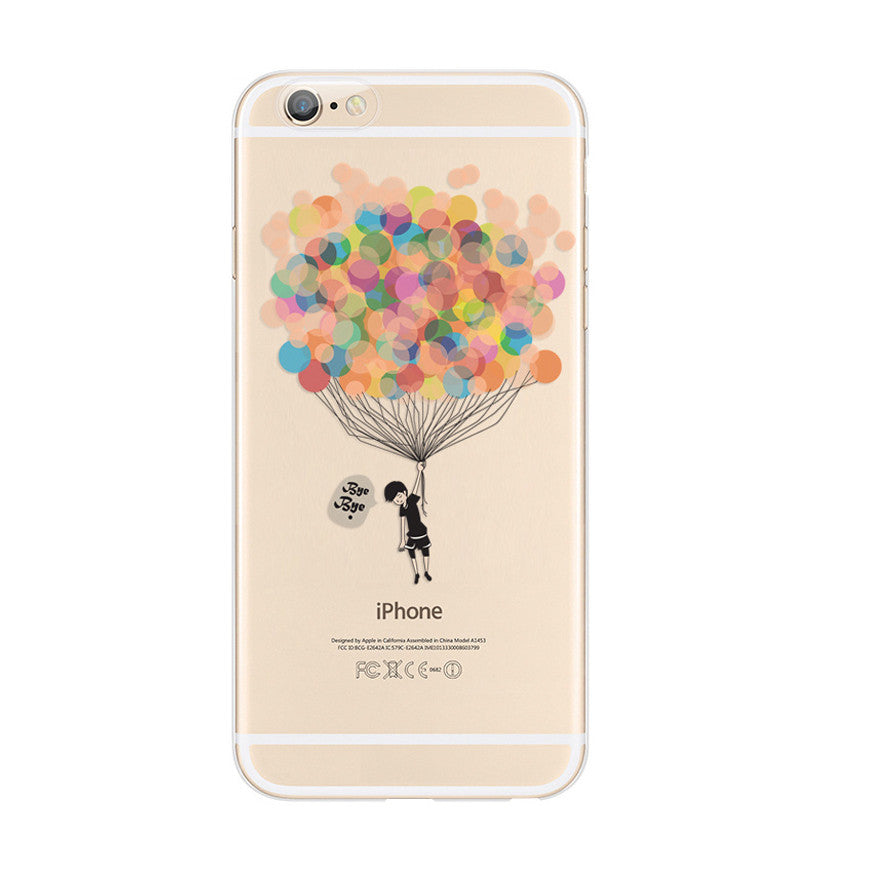 Colorful Balloon Bye Bye iPhone 6s 6 Plus SE 5s 5 Case - Mavasoap - 1