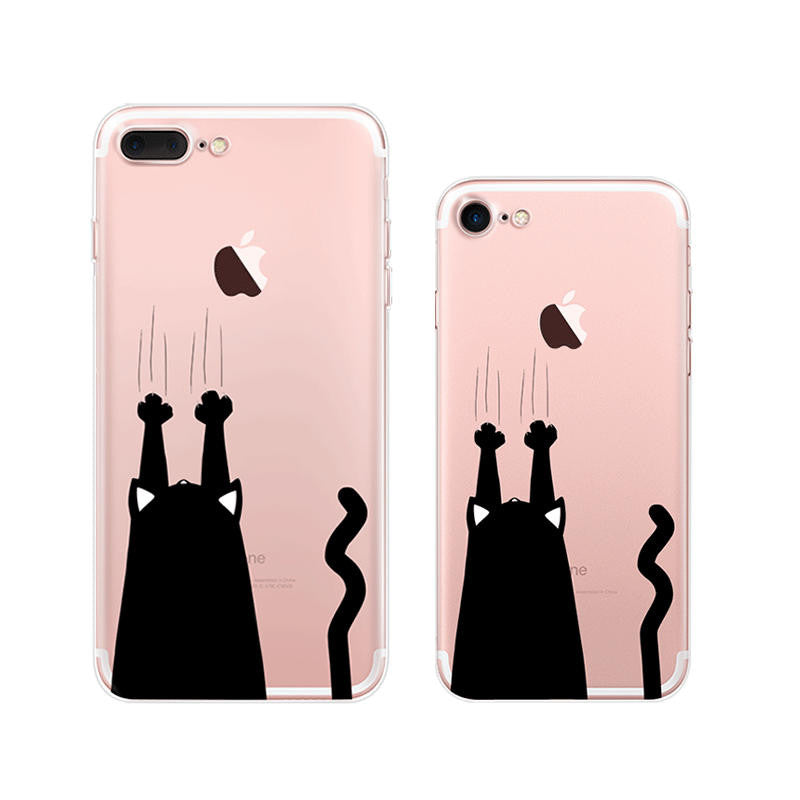 Cat Scratch iPhone 7 Plus Cases