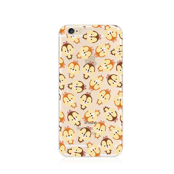 Chip 'n Dale Pattern iPhone 6s 6 Plus SE 5s 5 Case - Mavasoap