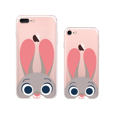Cute Zootopia Judy Hopps iPhone 7 Plus Cases