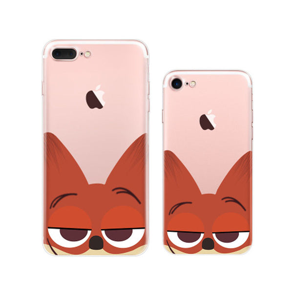 Cute Zootopia Nick Wilde iPhone 7 Cases