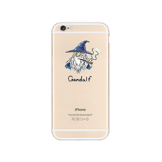 Gandalf iPhone 6s 6 Plus SE 5s 5 Soft Clear Case - Mavasoap