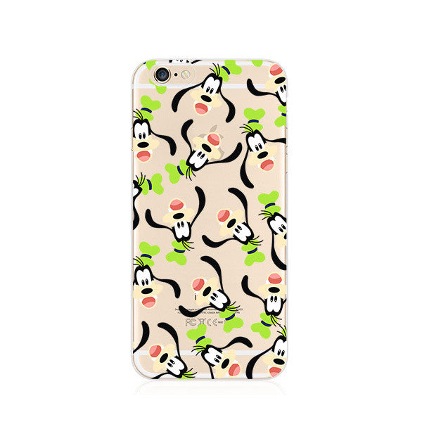 Goofy Pattern iPhone 6s 6 Plus SE 5s 5 Soft Clear Case - Mavasoap