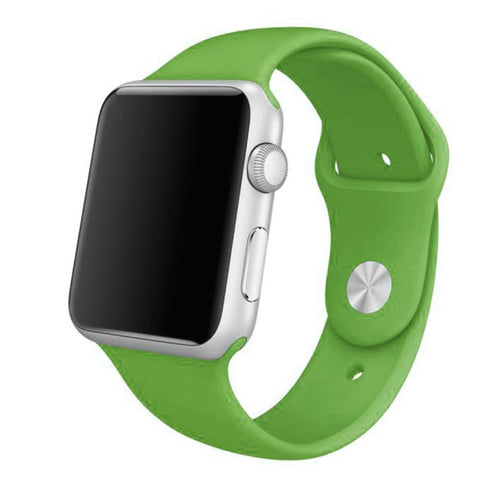 Apple Watch Green Sport Band Strap - Mavasoap - 1