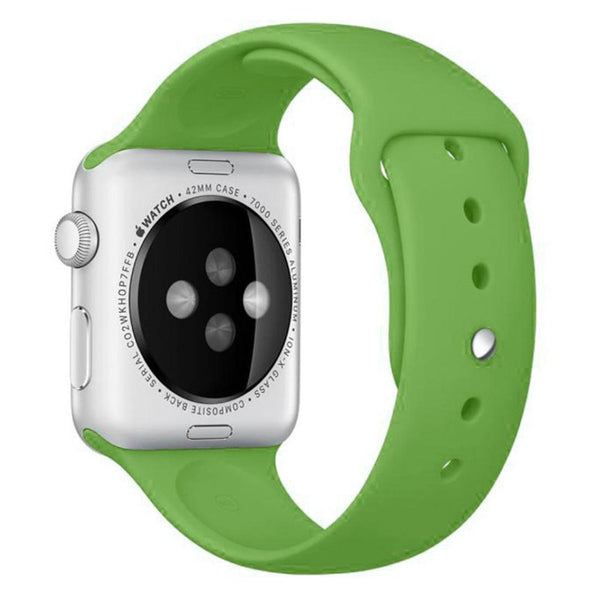 Apple Watch Green Sport Band Strap - Mavasoap - 2