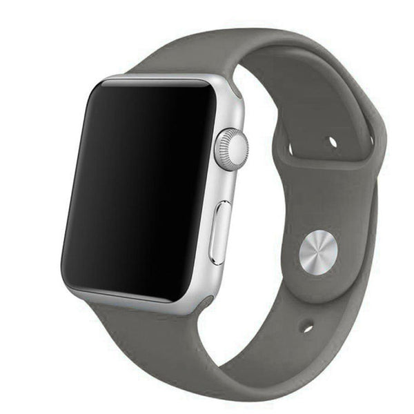 Apple Watch Grey Sport Band Strap - Mavasoap - 1