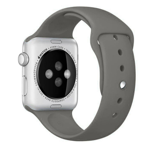 Apple Watch Grey Sport Band Strap - Mavasoap - 2