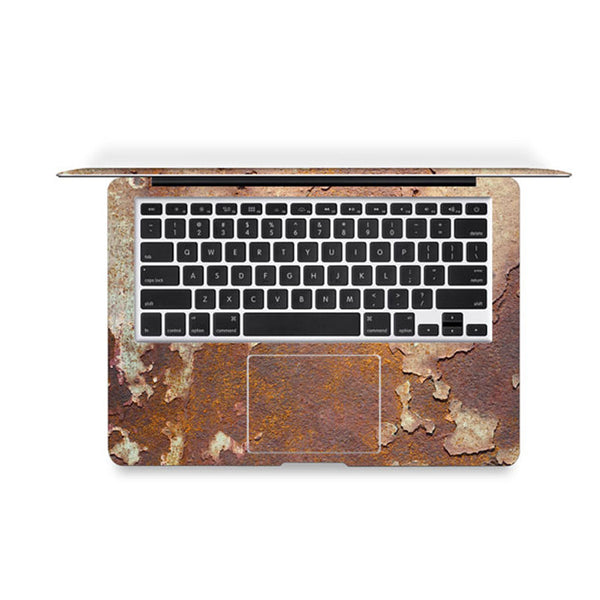 Iron Rust Decal Skin Set for the Apple MacBook Air Pro - Mavasoap - 3