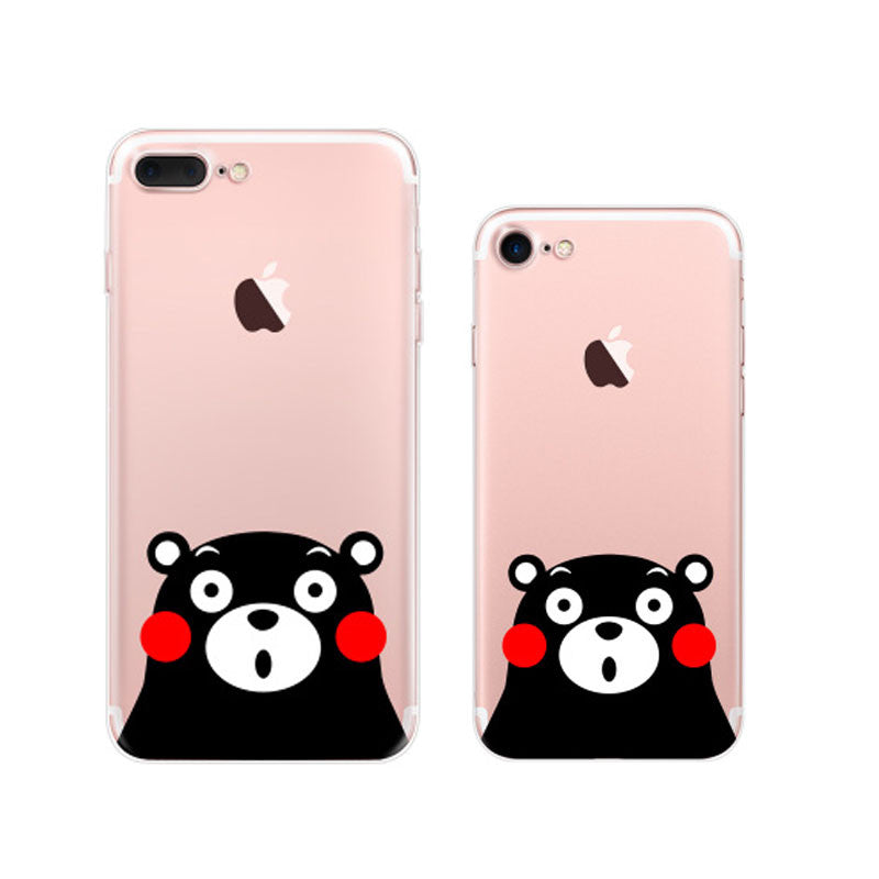 Kumamon iPhone 7 Soft Clear Cases