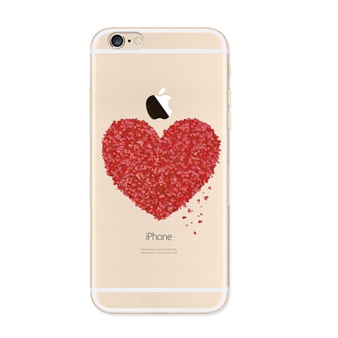 Love Sweet iPhone 6s 6 Plus SE 5s 5 Soft Clear Case - Mavasoap