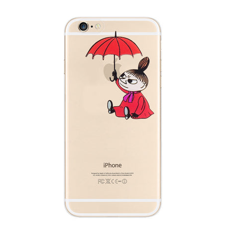 Moomin Little My iPhone 6s 6 Plus Soft Clear Case - Mavasoap