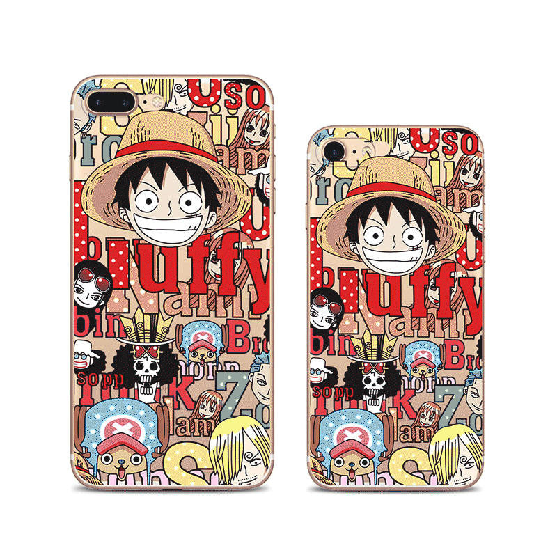 One Piece Luffy iPhone 7 Soft Clear Cases