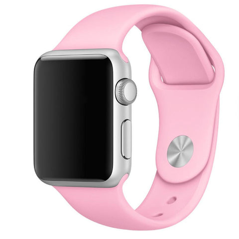 Apple Watch Pink Sport Band Strap - Mavasoap - 1