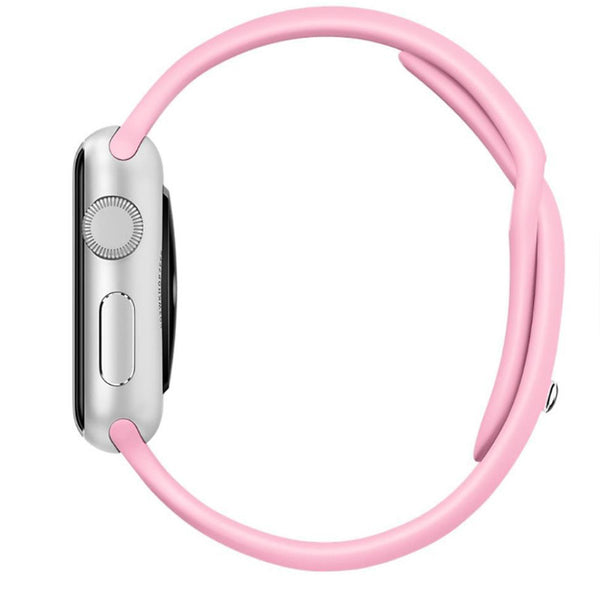 Apple Watch Pink Sport Band Strap - Mavasoap - 2