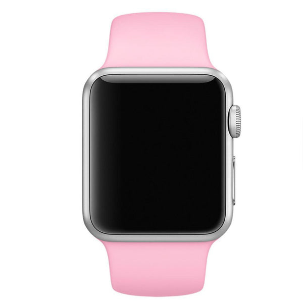 Apple Watch Pink Sport Band Strap - Mavasoap - 3