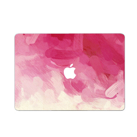Pink Paint Decal Skin Set for the Apple MacBook Air Pro - Mavasoap - 1
