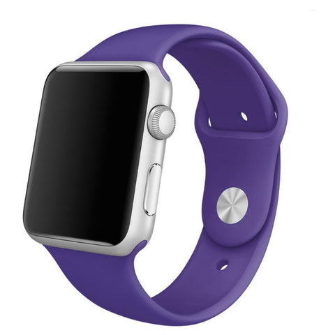 Apple Watch Purple Sport Band Strap - Mavasoap - 1