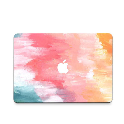 Rainbow Paint Decal Skin Set for the Apple MacBook Air Pro - Mavasoap - 1