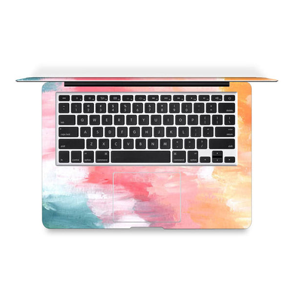 Rainbow Paint Decal Skin Set for the Apple MacBook Air Pro - Mavasoap - 2