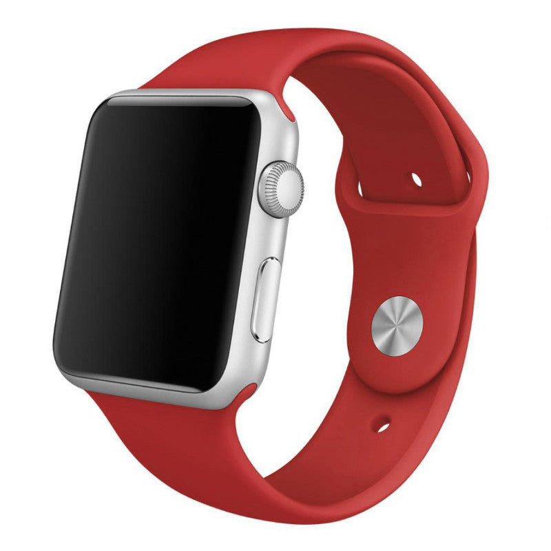 Apple Watch Red Sport Band Strap - Mavasoap - 1