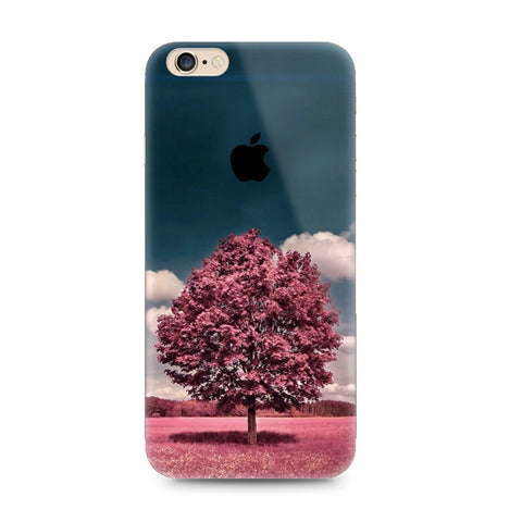 Red Tree Scenery Nature iPhone 6s 6 Plus Soft Clear Case - Mavasoap - 1