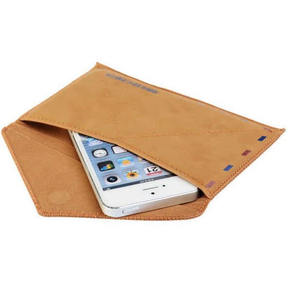 Anti-Dust Envelope Letter Pouch Case iPhone 6s 6 Plus SE 5s 5 - Mavasoap - 4