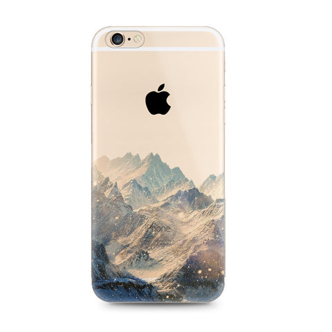 Snow Mountain Nice Scenery Nature iPhone 6s 6 Plus SE 5s 5 Case - Mavasoap