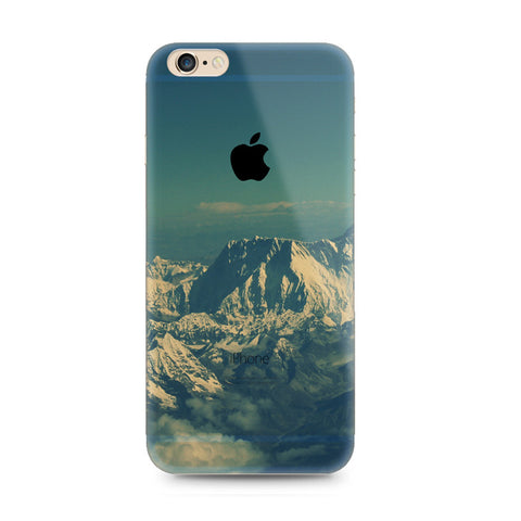Snow Mountain Nature iPhone 6s 6 Plus SE 5s 5 Soft Clear Case - Mavasoap - 1