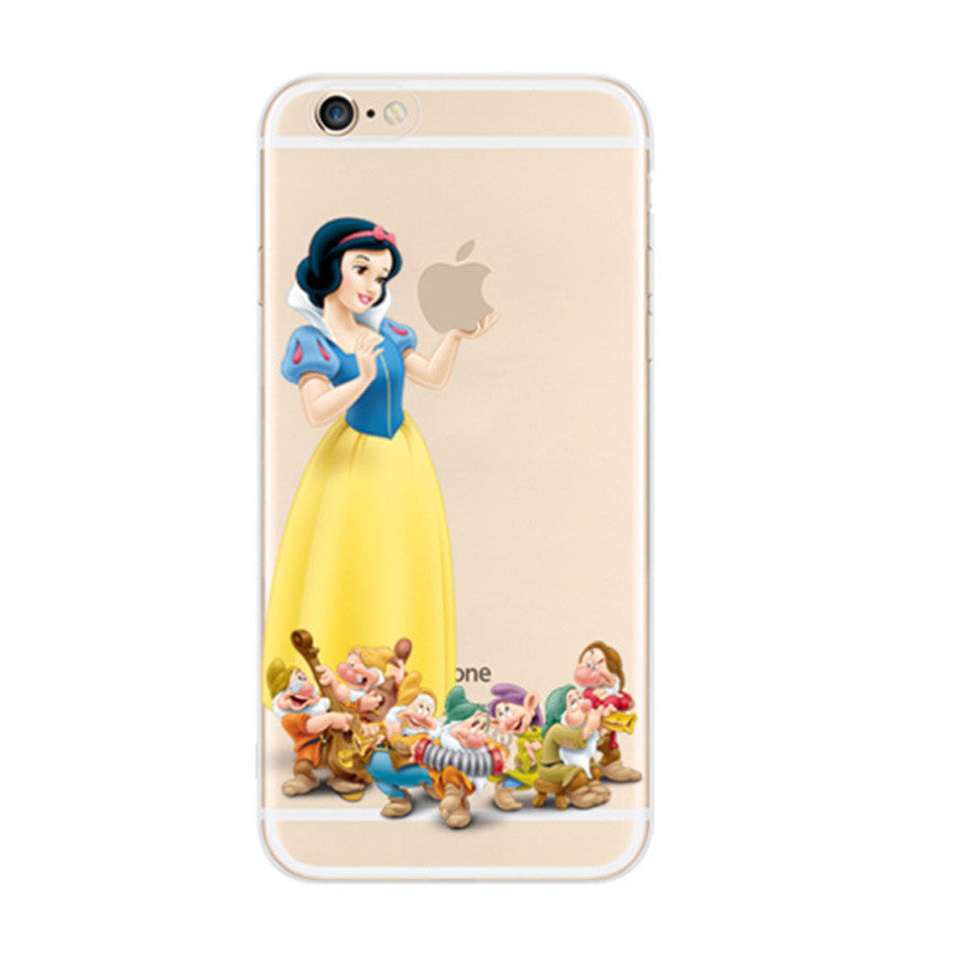 Disney Snow White the Seven Dwarfs iPhone 6s 6 Soft Clear Case - Mavasoap