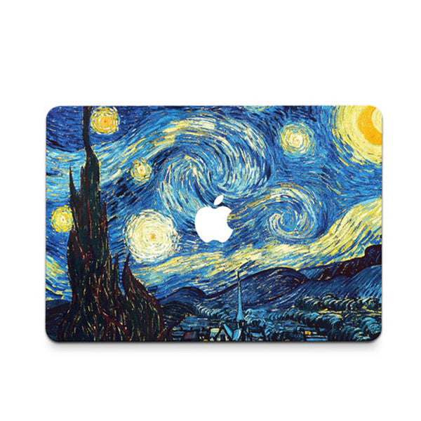Starry Night Decal Skin Set for the Apple MacBook Air Pro - Mavasoap - 1