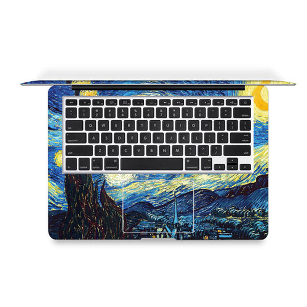 Starry Night Decal Skin Set for the Apple MacBook Air Pro - Mavasoap - 3
