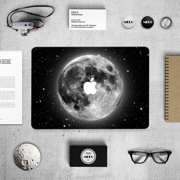 Earth Galaxy Black Decal Skin Set for the Apple MacBook Air Pro - Mavasoap - 6