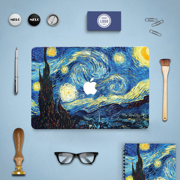 Starry Night Decal Skin Set for the Apple MacBook Air Pro - Mavasoap - 5