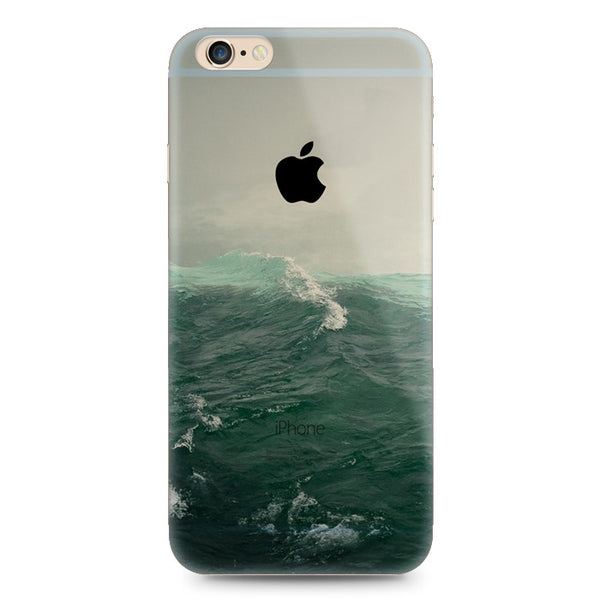 Ocean Sea Wave Nature iPhone 6s 6 Plus SE 5s 5 Soft Clear Case - Mavasoap