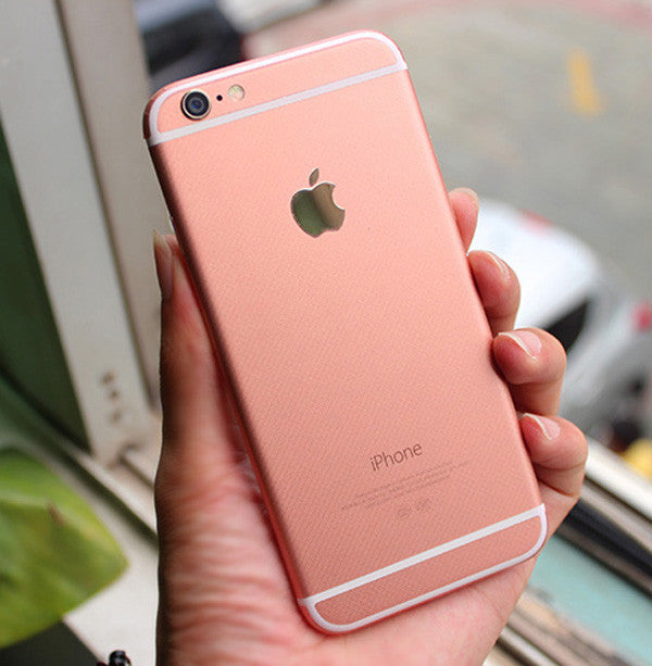 Rose Gold Pink Decal Wrap Skin Set Iphone 6 6s Plus Mavasoap