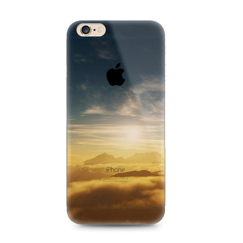 The Setting Sun Sunset Nature iPhone 6s 6 Plus Soft Cleae Case - Mavasoap - 1