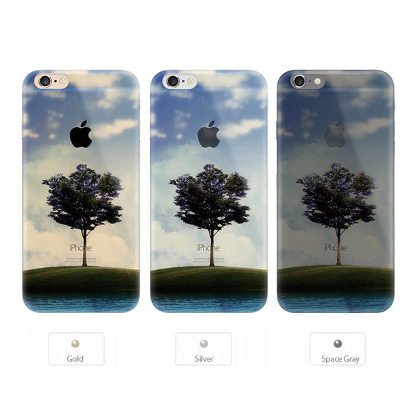 Tree Scenery Nature iPhone 6s 6 Plus Soft Clear Case - Mavasoap - 2